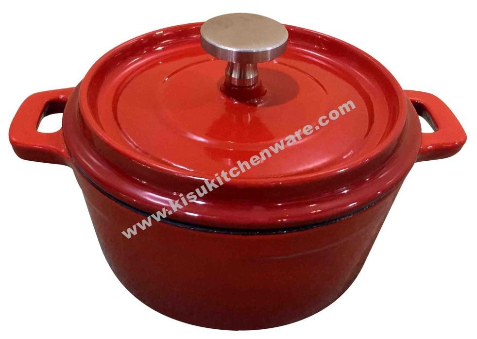Cast iron mini round casserole 5A13MN1