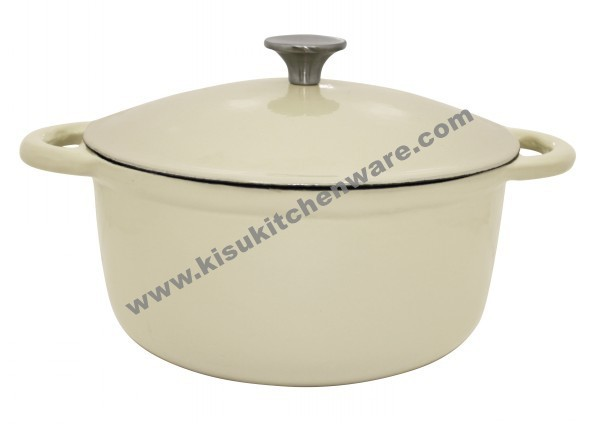 Cast iron round casserole 5AA10