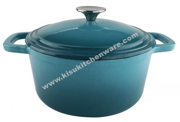 Cast iron round casserole 5AF10