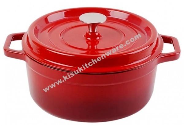 Cast iron round casserole 5AK10