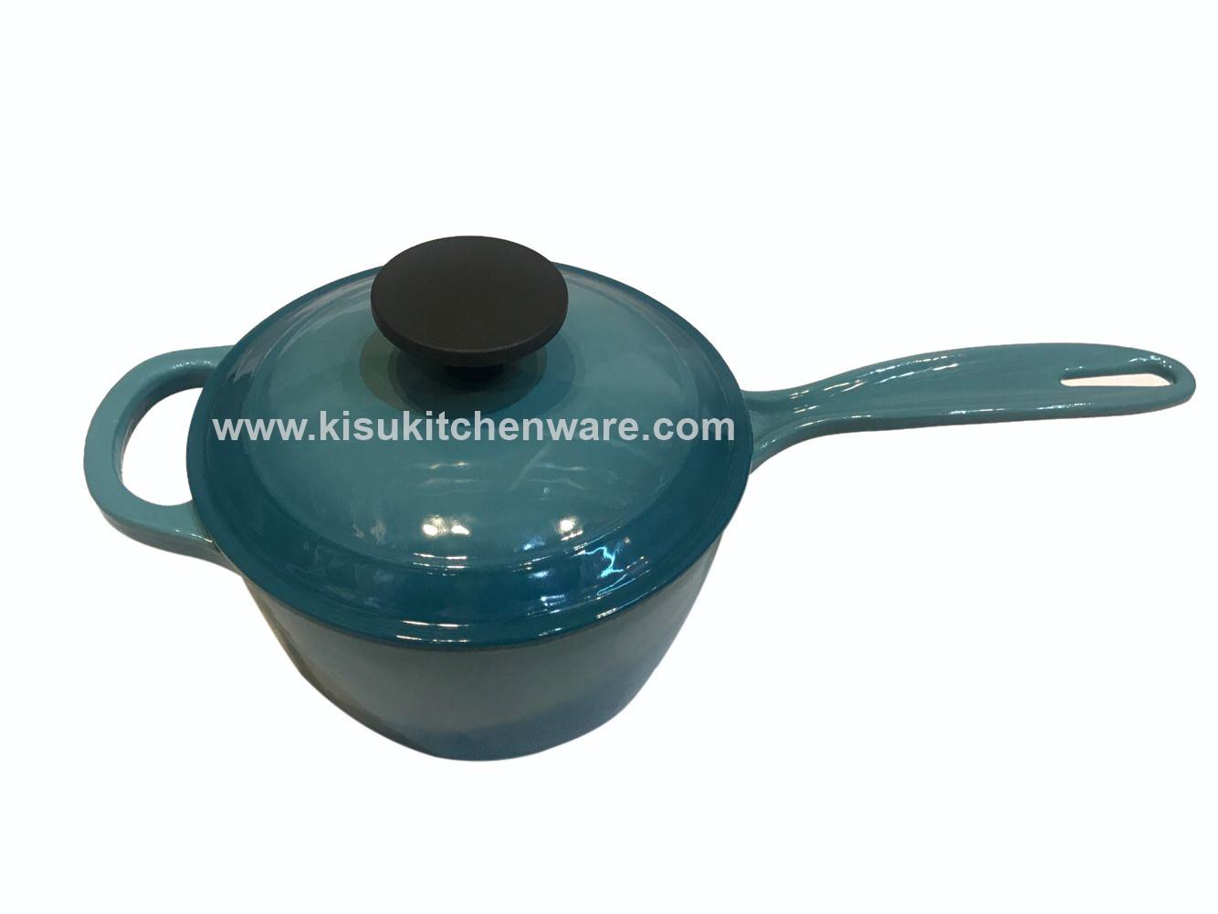 Cast iron sauce pan 5C17G10