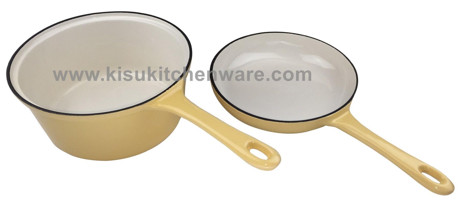 Cast iron sauce pan 5C20F10