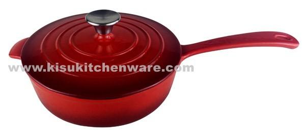 Cast iron sauce pan 5C24D10