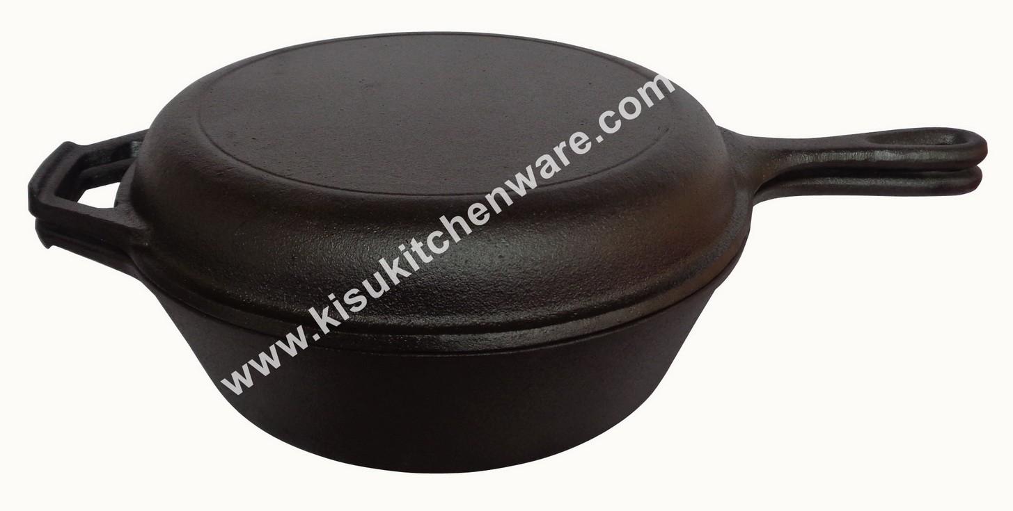 Cast iron sauce pan 5C27E10