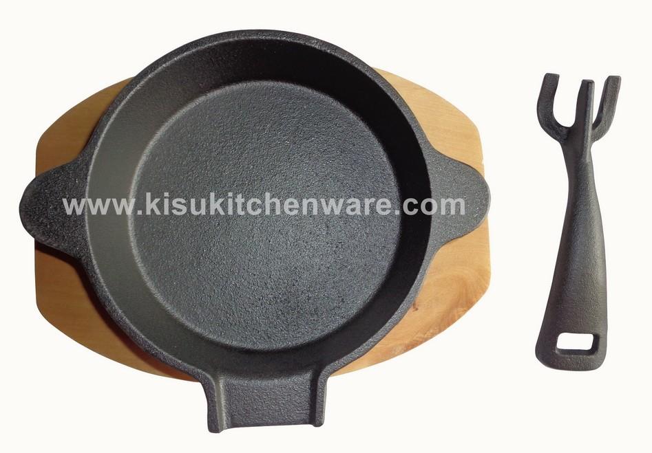 Cast iron skillet 5N14F10