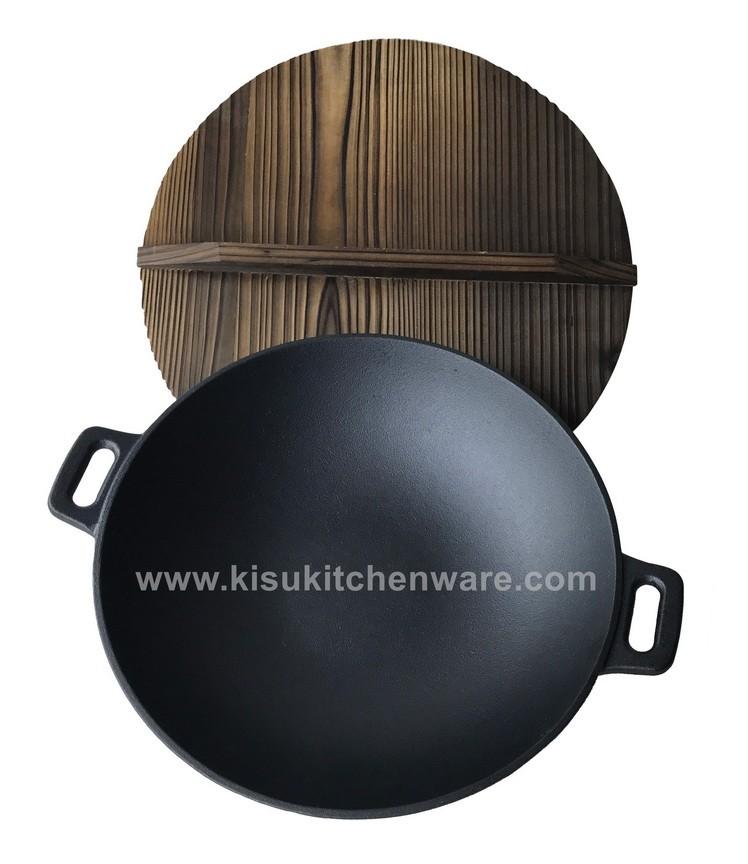 Cast iron wok 5L32J10